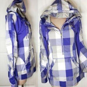 •Lululemon Purple Hooded Jacket•